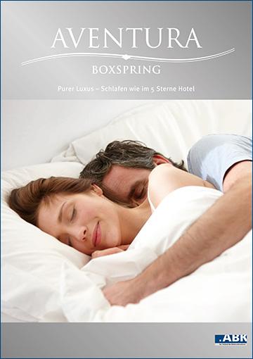 AVENTURA Boxspring - Schlafen wie im 5-Sterne